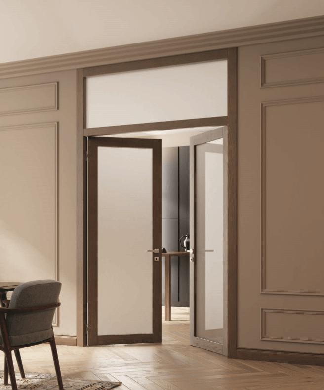 фрамуга двери Волховец фото интерьер