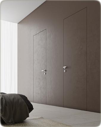 двери Invisible Волховец интерьер фото