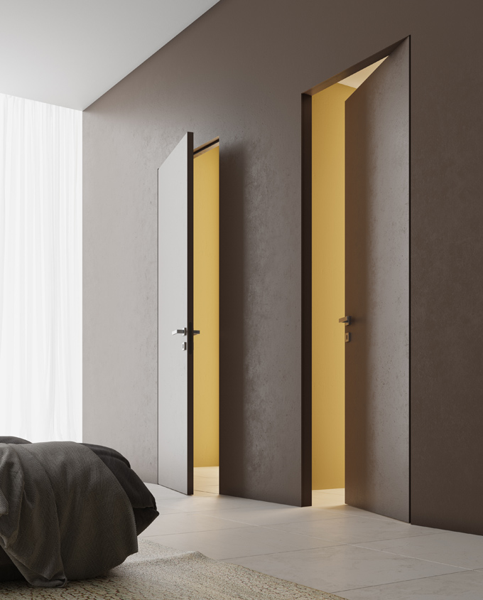скрытые двери Волховец Invisible фото