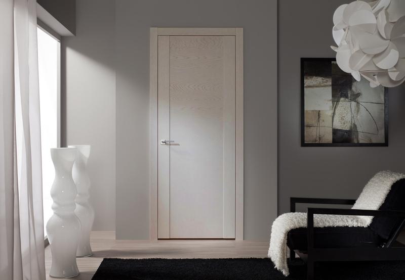 Двери волховец Quadro Ясень сливочный в интерьере фото